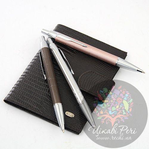 Шариковая ручка Parker IM Metallic Brown, фото