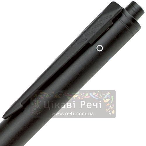 Многофункциональный инструмент: Шариковая ручка двух цветов и Карандаш и выделитель Parker Executive QP Matte Black Highlight, фото