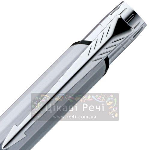 Шариковая ручка Parker Facet Matte Chrome CT, фото