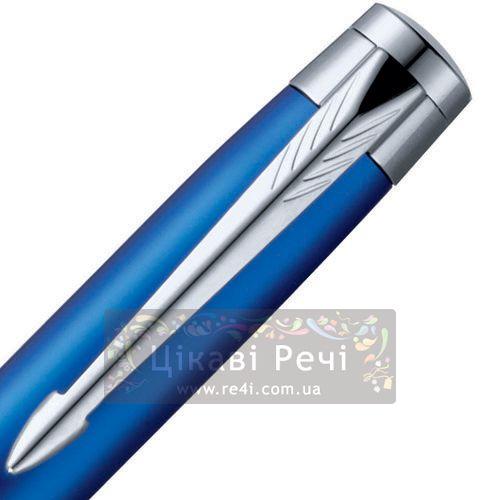 Многофункциональный инструмент: Шариковая ручка и стилус Parker Esprit Matte Blue Metal CT, фото