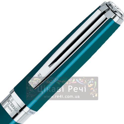 Шариковая ручка Waterman Exception Slim Green ST, фото