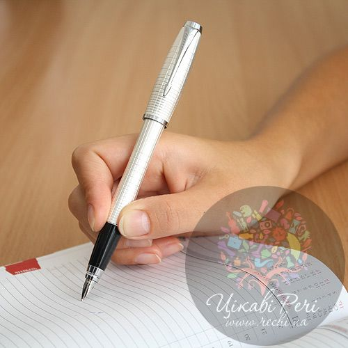 Перьевая ручка Parker Urban Premium Pearl Metal Chiselled, фото