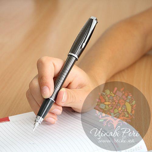Перьевая ручка Parker Urban Premium Ebony Metal Chiselled, фото