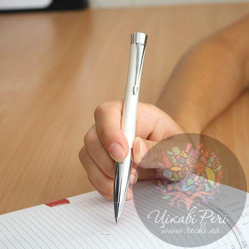 Шариковая ручка Parker Urban Premium Pearl Metal Chiselled, фото