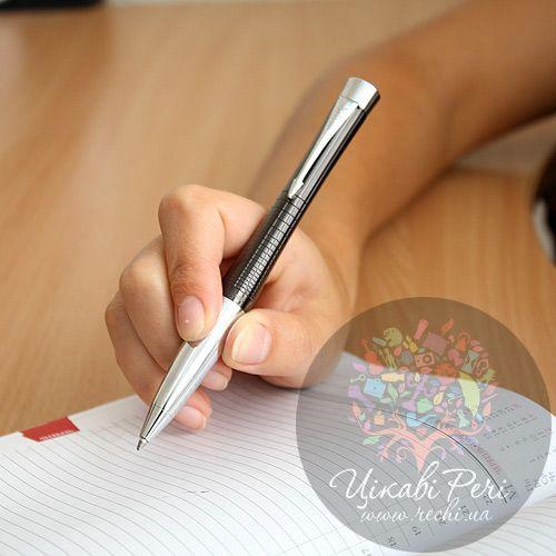Шариковая ручка Parker Urban Premium Ebony Metal Chiselled, фото