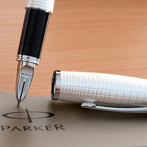 Ручка 5th mode Parker Urban Premium Pearl Metal Chiselled, фото