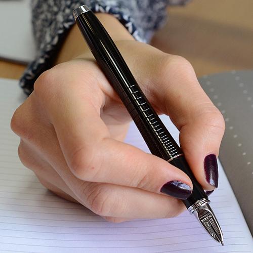 Ручка 5th mode Parker Urban Premium Ebony Metal Chiselled, фото