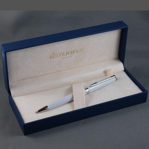 Шариковая ручка Waterman Hemisphere White CT, фото