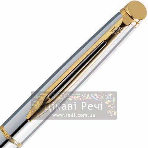 Шариковая ручка Waterman Hemisphere Starlight Palladium GT, фото