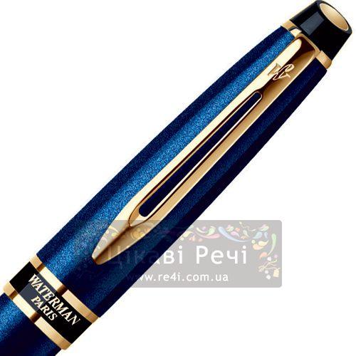 Ручка-роллер Waterman Expert Smart Blue GT, фото