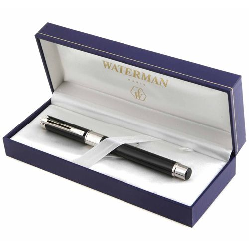 Ручка-роллер Waterman Elegance Black ST, фото