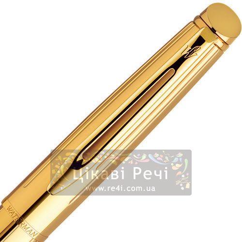 Ручка-роллер Waterman Hemisphere Golden Shine GT, фото