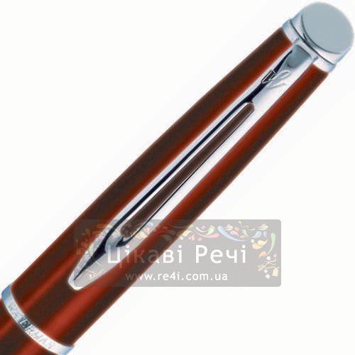 Ручка-роллер Waterman Hemisphere Metallic Cognac CT, фото