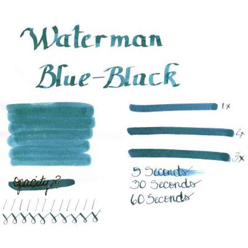 Чернила Waterman темно-синий, фото