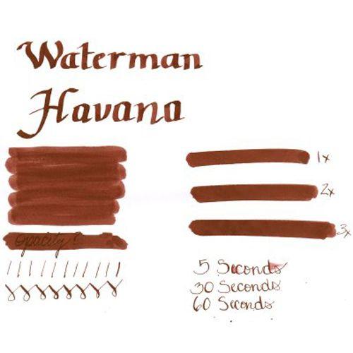 Чернила Waterman коричневый, фото