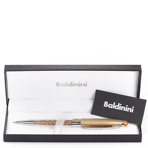 Шариковая ручка Baldinini бронзового цвета, фото