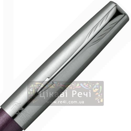 Ручка-роллер Parker Frontier Luna Purple CT, фото