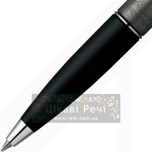 Шариковая ручка Parker Frontier Luna Grey CT, фото