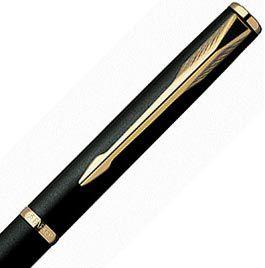 Шариковая ручка Parker Insignia New Matte Black GT, фото