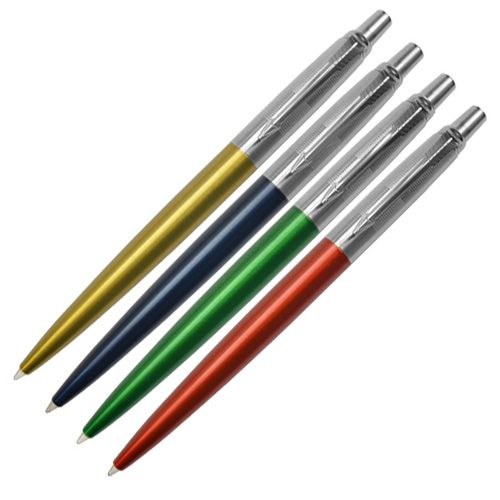 Шариковая ручка Parker Jotter 125 Years Laque Blue, фото