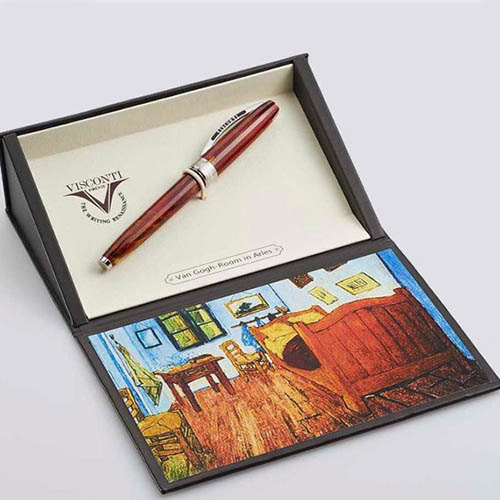 Ручка-роллер Van Gogh 2011 Room In Arles с фрагментом картины Комната в Арле, фото