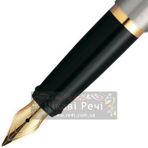 Перьевая ручка Parker Latitude Stainless Steel GT, фото