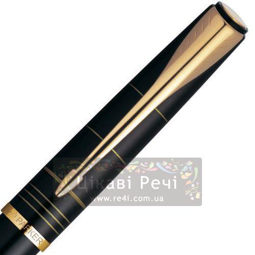 Перьевая ручка Parker Latitude Silky Black GT, фото