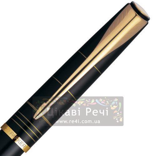 Ручка-роллер Parker Latitude Silky Black GT, фото