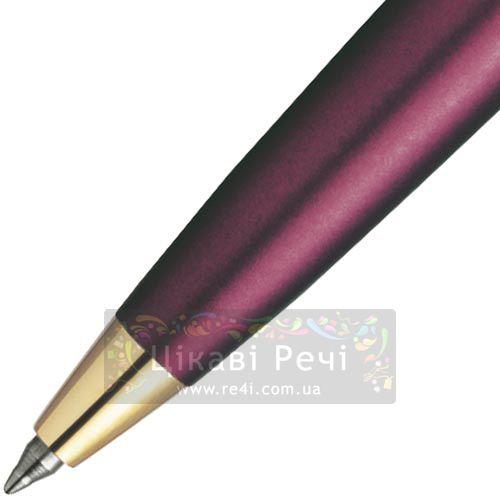 Шариковая ручка Parker Latitude Garnet Red GT, фото
