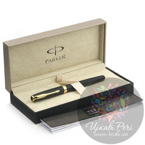 Перьевая ручка Parker Sonnet 08 Matte Black, фото