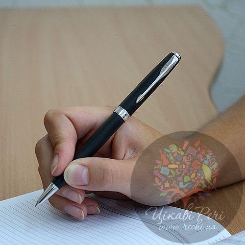 Шариковая ручка Parker Sonnet 08 Matte Black CT, фото