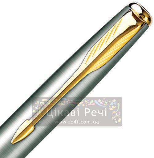 Карманная шариковая ручка Monobloc Parker Sonnet 08 SS GT, фото