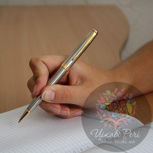 Шариковая ручка Parker Sonnet 08 SS GT, фото