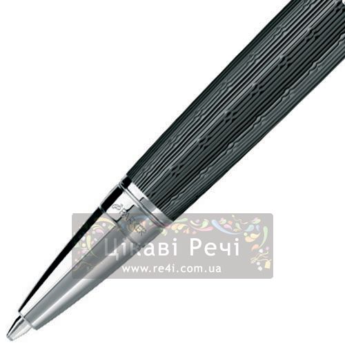 Шариковая ручка Parker Sonnet 08 Mono Chiselled Carbon PT, фото