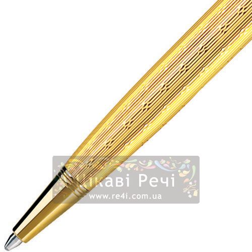 Шариковая ручка Parker Sonnet 08 Chiselled Gold GT, фото