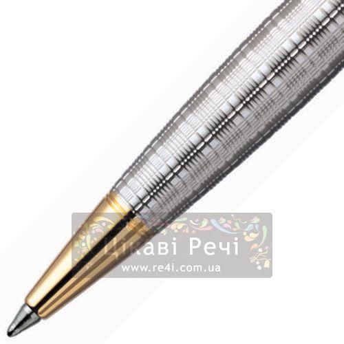 Серебряная ручка-роллер Parker Sonnet 04 Tartan GT, фото