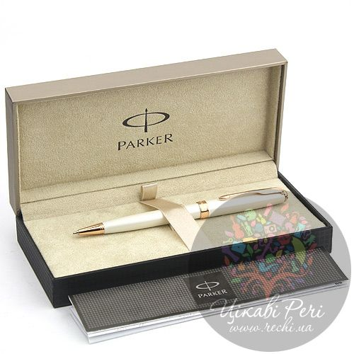 Шариковая ручка Parker Sonnet 08 Pearl Lacquer PGT, фото