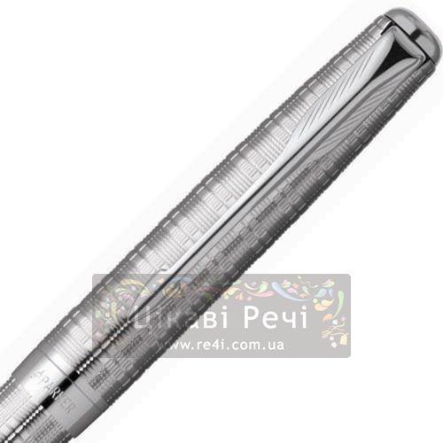 Серебряная шариковая ручка Parker Sonnet 04 Tartan ST, фото