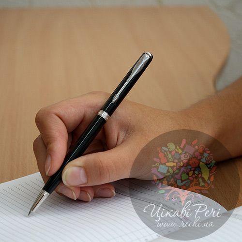 Шариковая ручка Slim Parker Sonnet 08 Laque Black SP, фото