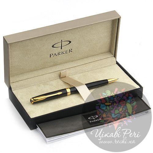 Шариковая ручка Parker Sonnet 08 Laque Black, фото