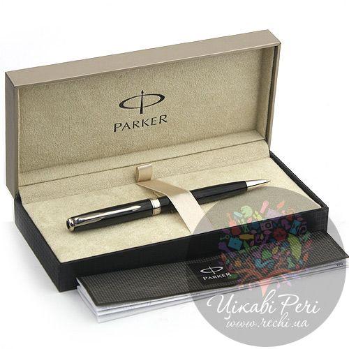 Шариковая ручка Parker Sonnet 08 Laque Black SP, фото