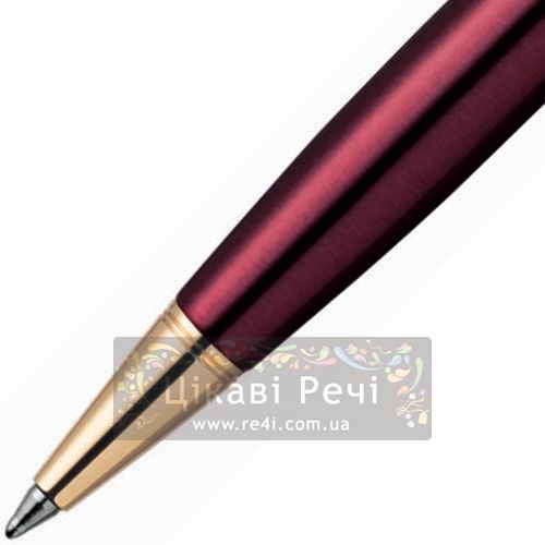 Шариковая ручка Parker Sonnet 08 Laque Ruby Red GT, фото