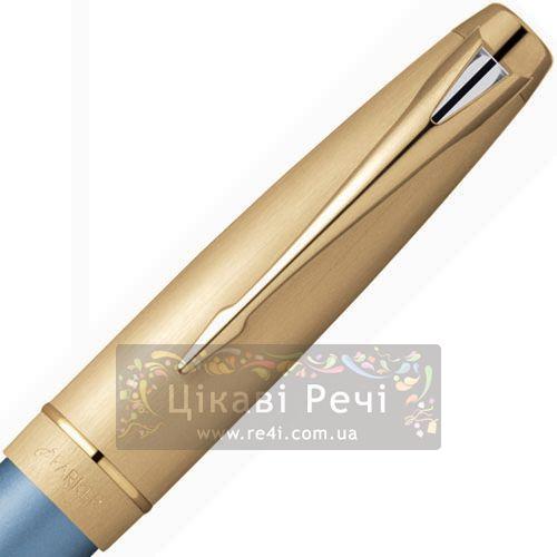 Перьевая ручка Parker 100 Diamond Blue GT, фото