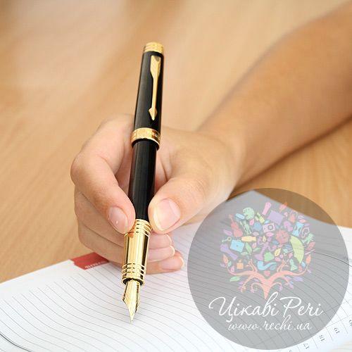 Перьевая ручка Parker Premier Black Laquer GT, фото