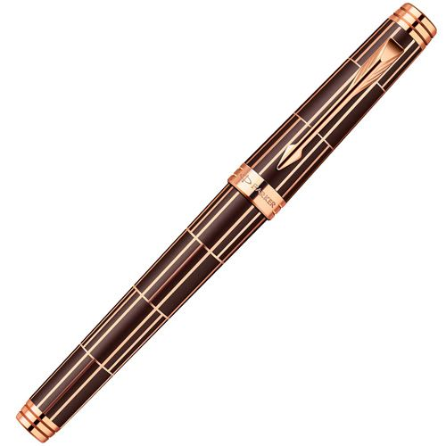 Перьевая ручка Parker Premier Luxury Brown PGT , фото