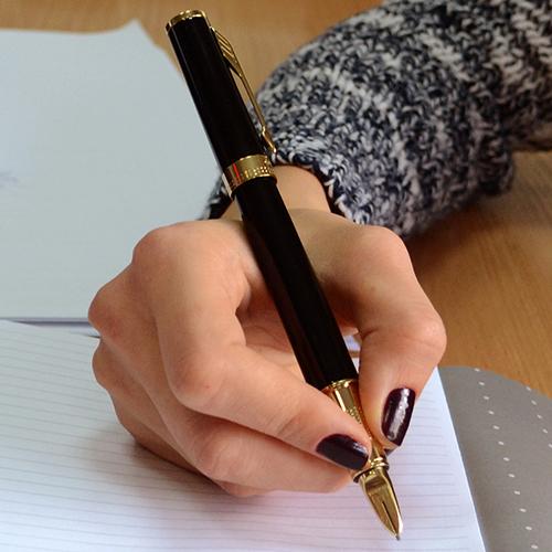 Ручка 5го поколения Parker Ingenuity Black Lacquer GT, фото