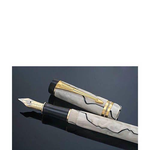 Перьевая ручка Parker DUOFOLD Pearl and Black юбилейный выпуск, фото