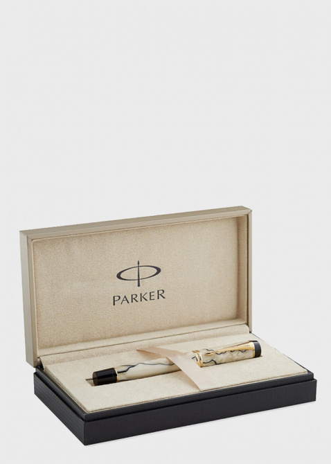 Ручка-роллер Parker Duofold Pearl and Black NEW, фото