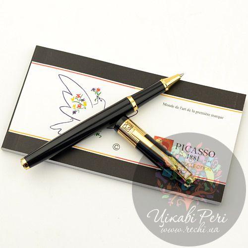 Ручка-роллер Picasso 999 Pure Black, фото
