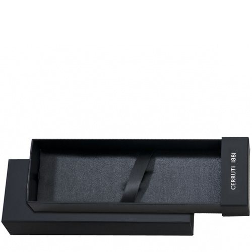 Ручка-роллер и перьевая ручка Cerruti 1881 Flap в сдвоенном колпачке, фото